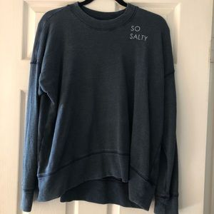 NWOT Aerie so salty sweatshirt long sleeve shirt